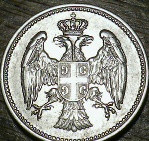 1912 SERBIA 20 PARA   AWESOME COIN   NICE LOOK