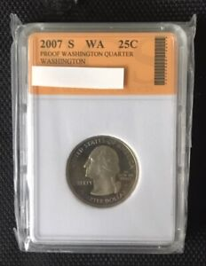 2007 S WASHINGTON STATE QUARTER   WASHINGTON   SLABBED LOT 312