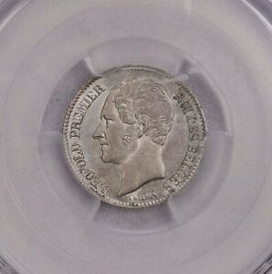 Click now to see the BUY IT NOW Price! PCGS MS63 1849 BELGIUM 1/2FRANCS SILVER KEY TYPE TOP GRADE