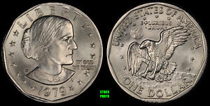 1979 P SUSAN B. ANTHONY DOLLAR   BRILLIANT UNCIRCULATED FROM OBW ROLL
