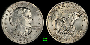 1979 D SUSAN B. ANTHONY DOLLAR   BRILLIANT UNCIRCULATED FROM OBW ROLL