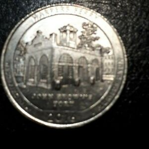 US 2016 WEST VIRGINIA HARPERS FERRY NTL HISTORICAL PARK COIN    COMBINED SHIP