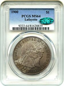 1900 LAFAYETTE $1 PCGS/CAC MS64   THE ONLY $1 CLASSIC COMMEM