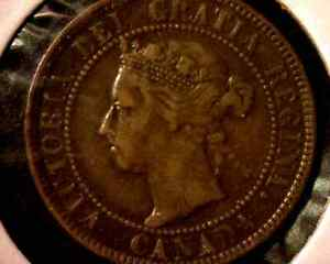 1901 CANADA LARGE 1 CENT
