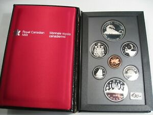 1986 CANADIAN VANCOUVER PROOF SET. CANADA.  129