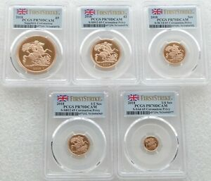 Click now to see the BUY IT NOW Price! 2018 BRITISH ROYAL MINT GOLD PROOF SOVEREIGN 5 COIN SET PCGS PR70 DCAM FS