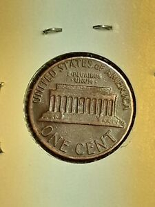 COINS ERROR PENNY 1984D DBL D LOOKS LIKE A 1 UNDER D NOT GRADED USED