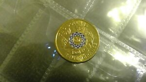 2019 POLICE REMEMBRANCE $2 DOLLAR COIN UNCIRCULATED EX RAM MINT BAG