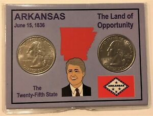 2003 P & D QUARTERS IN ARKANSAS STATE CARD HOLDER