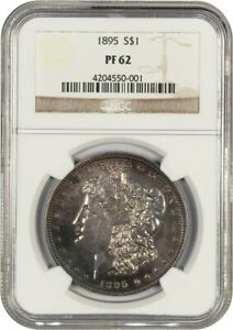 Click now to see the BUY IT NOW Price! 1895 $1 NGC PR 62   KEY DATE PROOF ONLY RARITY   MORGAN SILVER DOLLAR