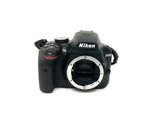 NIKON D3400 DSLR CAMERA BODY  BLACK