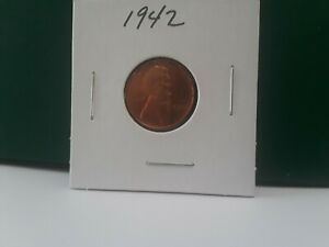 1942 LINCOLN CENT XXF TO AU CONDITION. BUYER TO GRADE.