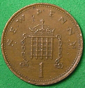 1 COIN FROM GREAT BRITAIN.  1 PENNY.  1978.