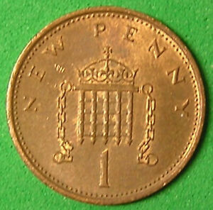 1 COIN FROM GREAT BRITAIN.  1 PENNY.  1981.