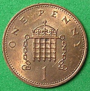1 COIN FROM GREAT BRITAIN.  1 PENNY.  1984.