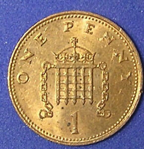 1 COIN FROM GREAT BRITAIN.  1 PENNY.  1988.