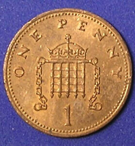 1 COIN FROM GREAT BRITAIN.  1 PENNY.  1990.