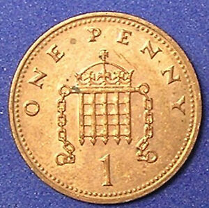 1 COIN FROM GREAT BRITAIN.  1 PENNY.  1992.
