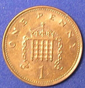 1 COIN FROM GREAT BRITAIN.  1 PENNY.  1993.
