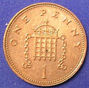 1 COIN FROM GREAT BRITAIN.  1 PENNY.  1994.