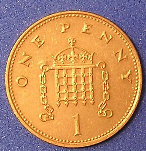 1 COIN FROM GREAT BRITAIN.  1 PENNY.  1996.