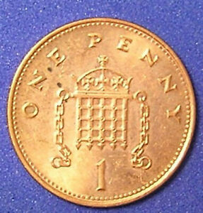 1 COIN FROM GREAT BRITAIN.  1 PENNY.  1997.