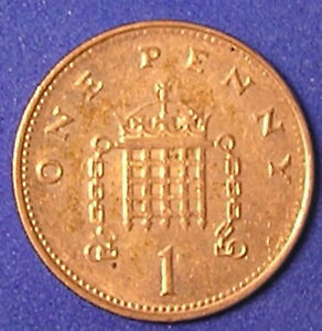 1 COIN FROM GREAT BRITAIN.  1 PENNY.  1998.