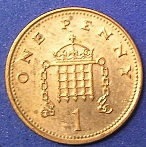 1 COIN FROM GREAT BRITAIN.  1 PENNY.  2000.