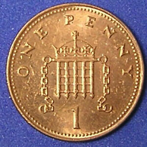 1 COIN FROM GREAT BRITAIN.  1 PENNY.  2002.