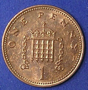1 COIN FROM GREAT BRITAIN.  1 PENNY.  2003.