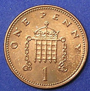 1 COIN FROM GREAT BRITAIN.  1 PENNY.  2007.
