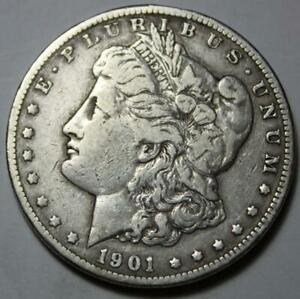UNITED STATES 1901 O MORGAN SILVER DOLLAR