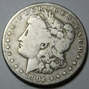 UNITED STATES 1902 O MORGAN SILVER DOLLAR