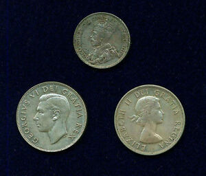 Click now to see the BUY IT NOW Price! CANADA GEORGE VI 1950 & ELIZABETH II 1953  50 CENTS SILVER COINS   1929 25 CENTS