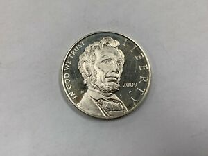 2009 P US ABRAHAM LINCOLN PROOF SILVER DOLLAR 90  Q1CB