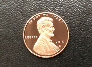 2014 S LINCOLN SHIELD CENT GEM DCAM PROOF U.S. COIN D9968