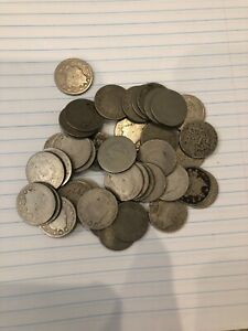 120 CULL V NICKELS 1883 1913 MIX OF PARTIAL AND FULL DATES