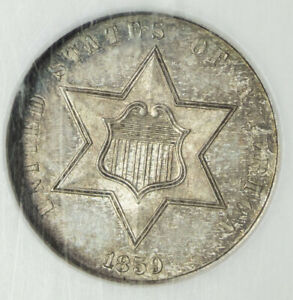 1859 NGC PF65 THREE CENT SILVER ITEMT10808