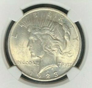 1923 VAM 1A2 NGC MS 61 MORGAN SILVER DOLLAR GENE L HENRY LEGACY COLLECTION