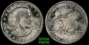 1979 S SUSAN B. ANTHONY DOLLAR   BRILLIANT UNCIRCULATED FROM OBW ROLL