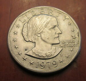 1979 SUSAN B ANTHONY ONE DOLLAR COIN