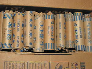 2000 2008 CANADA ASSORTED STEEL FIVE CENTS LOT OF 47 ROLLS B6213