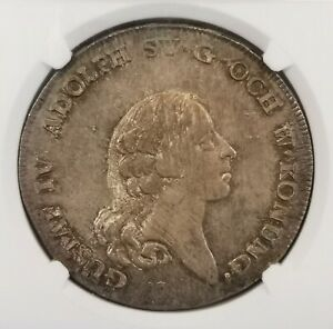 Click now to see the BUY IT NOW Price! NGC MS64 1797 OL SWEDEN RD SILVER POP TOP TONED BU