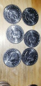 2 COINS 1979 P SUSAN B ANTHONY DOLLARS DOUBLE DIE OBV ERROR COINS