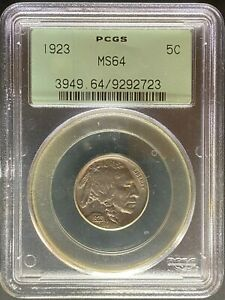1923 BUFFALO NICKEL   PCGS MS64