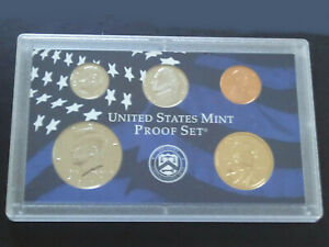 2000 S US MINT PROOF SET   NO COA OR PACKAGING   COINS AND PLASITC CASE ONLY