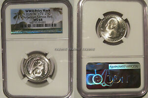 Click now to see the BUY IT NOW Price! 2020 W AMERICAN SAMOA QUARTER 25C NGC MS 68 PRIVY MARK V75 BAT COIN