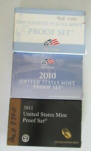 Click now to see the BUY IT NOW Price! 2009 2010 2011 UNITED STATES PROOF SET ORIGINAL PACKAGING