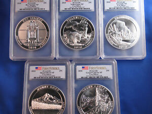 Click now to see the BUY IT NOW Price! 2010 AMERICA THE BEAUTIFUL SILVER 5 COIN SET PCGS BU B4168