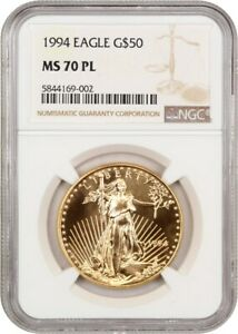 Click now to see the BUY IT NOW Price! 1994 GOLD EAGLE $50 NGC MS700 PL   AMERICAN GOLD EAGLE AGE